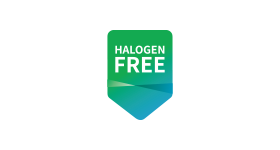 Registered by halogen free